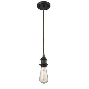 17 Stories Briele 1-Light Bulb Pendant