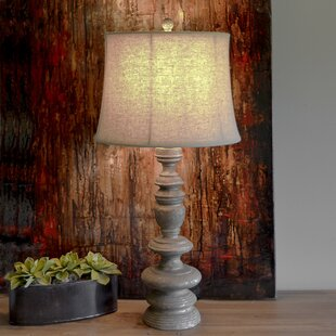 Resin Baluster 31.5 Table Lamp