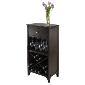 Mackenzie 20 Bottle Floor Wine Rack