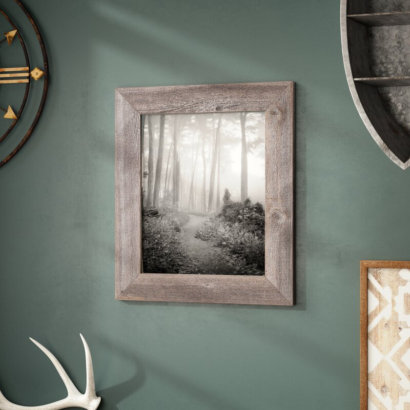 Parks Reclaimed Barn Wood Wall Picture Frame