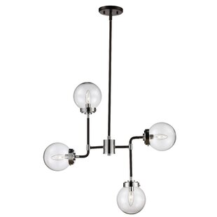 Mercury Row Avent 4-Light Sputnik Chandelier