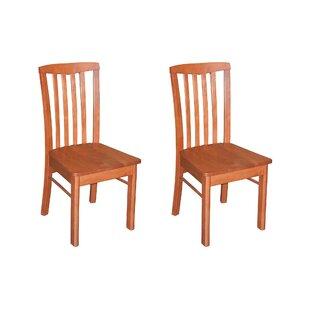 Bonenfant Side Chair in Wood Seat (Set of..