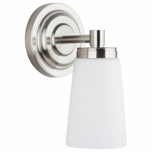 Ebern Designs Figueroa 1-Light LED Bath Sconce
