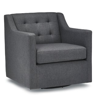 Savings Flovilla Swivel Armchair By Ivy Bronx