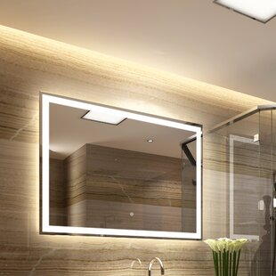 Deals Bode Back Lit Daylight Bathroom Mirror By Orren Ellis