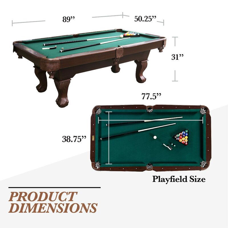 MD Sports Barrington Springdale 7.5' Pool Table & Reviews | Wayfair