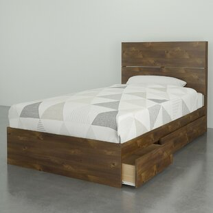 Union Rustic Parton Storage Platform Bed