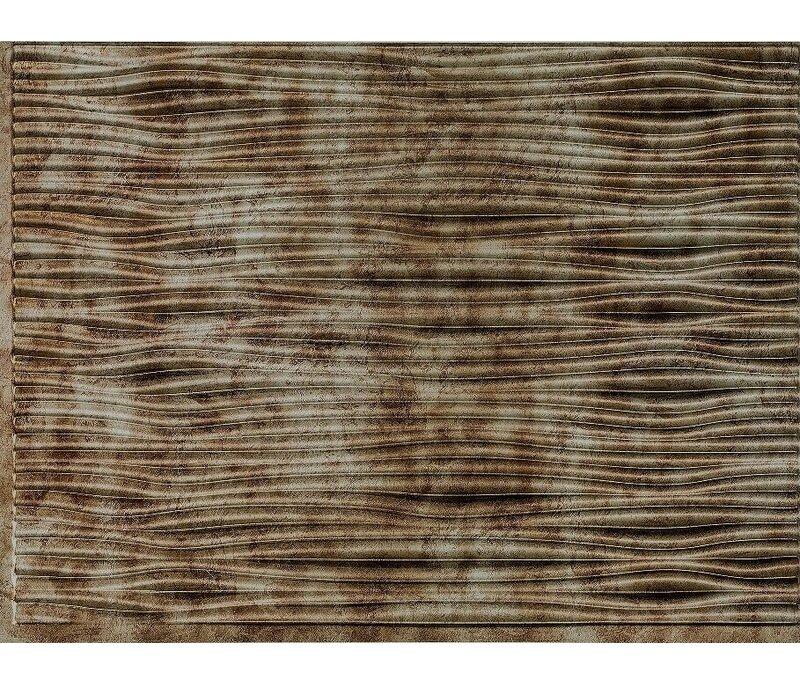 Retroart Gobi Backsplash Wall Paneling 18 X 24 Field Tile In Bermuda Bronze Wayfair