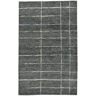 Price comparison Josefina Hand-Knotted Wool Gray/White Area Rug By Williston Forge