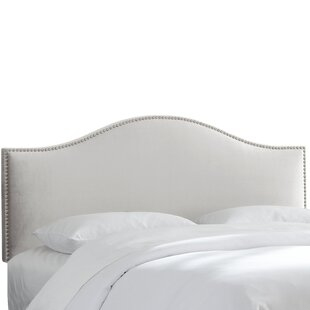 Rosecliff Heights Hendry Nail Button Upholstered Panel Headboard
