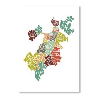 Mapart Boston Textual Art