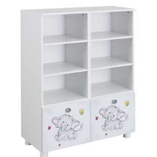Jemma 123cm Bookcase By Rauch
