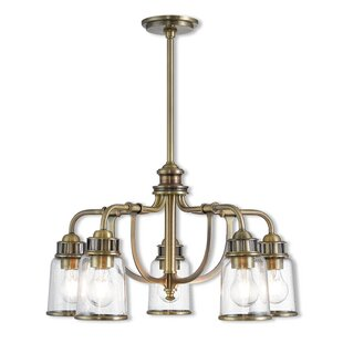 17 Stories Laurenza Dinette 5-Light Shaded Chandelier