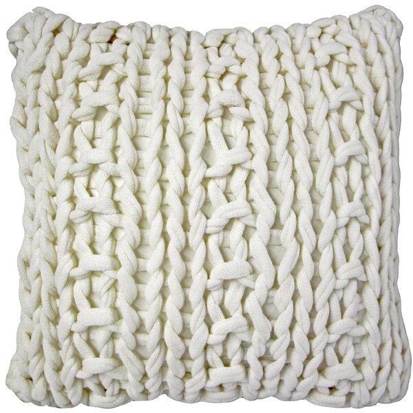 Chunky Knit Throw Pillow Wayfair