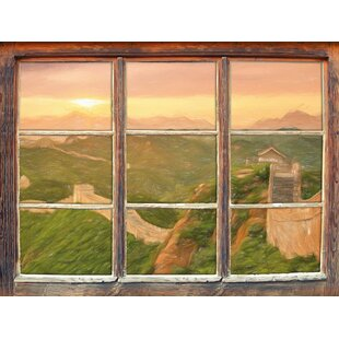 Great Wall Of China Wall Sticker By East Urban Home