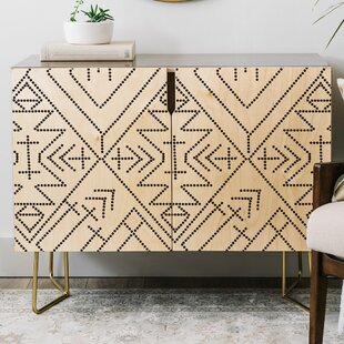 Vy La Cross Diamond Credenza by East Urban Home