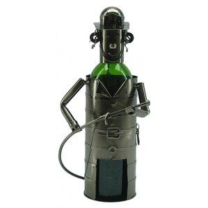 Fireman 1 Bottle Tabletop Wine Rack by Th..