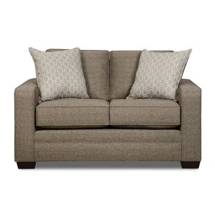 Simmons Upholstery Cornelia Loveseat by Latitude Run Best