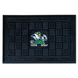 NCAA Notre Dame Medallion Door Mat By FANMATS
