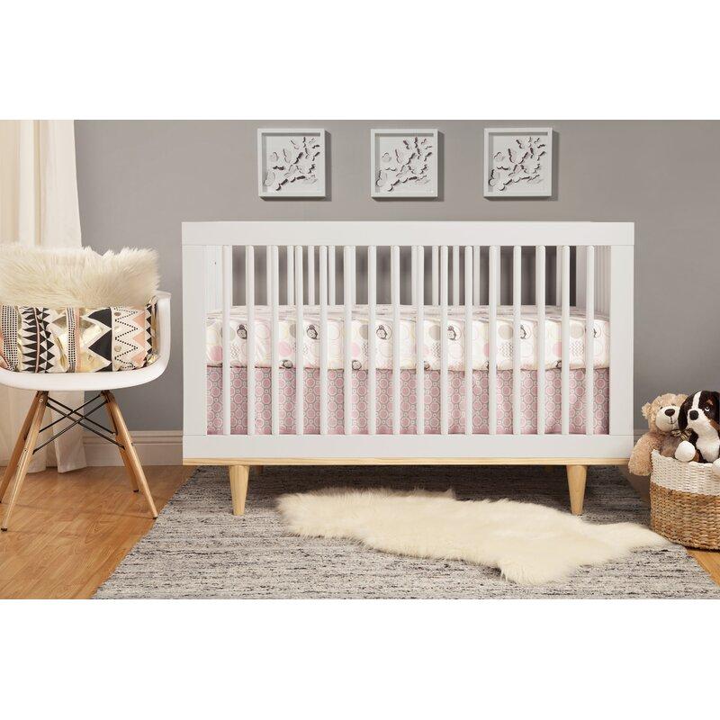 Baby Mod Marley 3-in-1 Convertible Crib | Wayfair