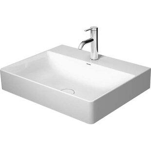 Looking for Ceramic Rectangular Vessel Bathroom Sink By Duravit
