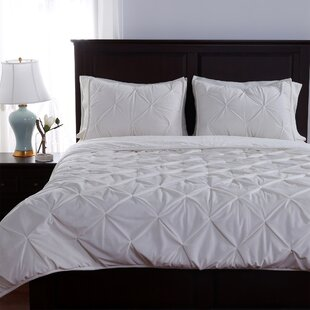 Parisian Pintuck 3 Piece Comforter Set