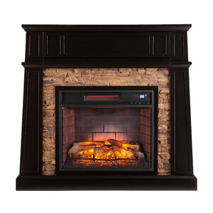 Neema Infrared Media Electric Fireplace by Loon Peak