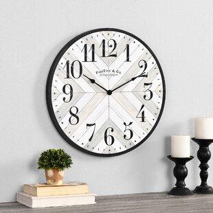 "Daylann Lath 20"" Wall Clock"