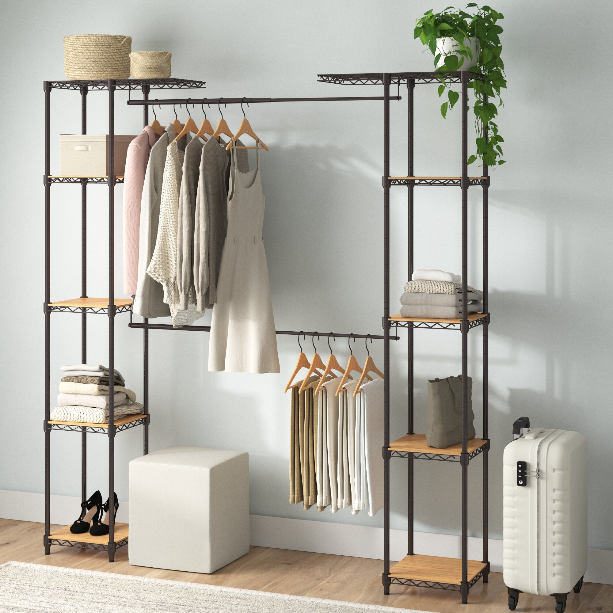 Picture of: Walk In Closet Systems You Ll Love In 2020 Wayfair