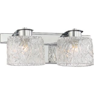 Glendale 2-Light Vanity light by Latitude Run