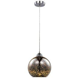 Conlon 1-Light Globe Pendant by Ebern Designs