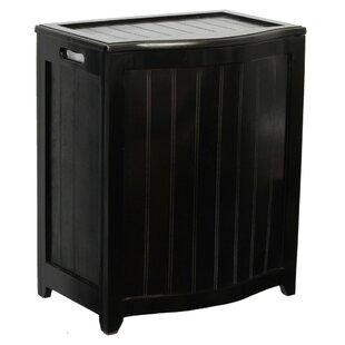 Shop For Flip Lid Wood Laundry Hamper By Darby Home Co