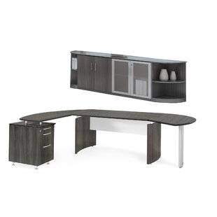 Medina Series 2-Piece Standard Desk Office Suite