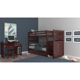 Save Rubi Twin Over Twin Standard Bunk 2 Piece Bedroom Set By Harriet Bee