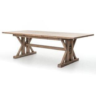 Galilea Extendable Solid Wood Dining Table Gracie Oaks