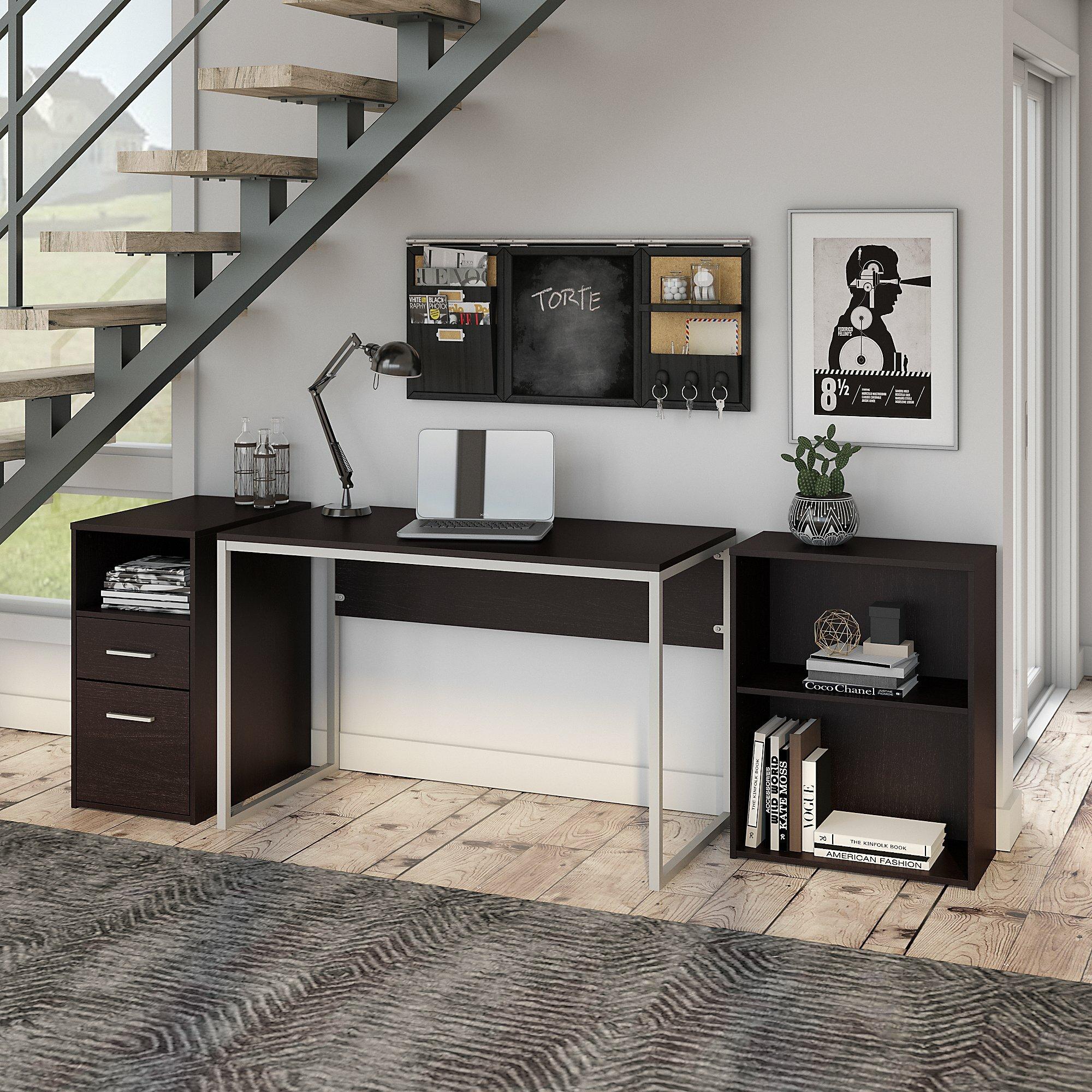 Symple Stuff Hesse Small Desk Bookcase