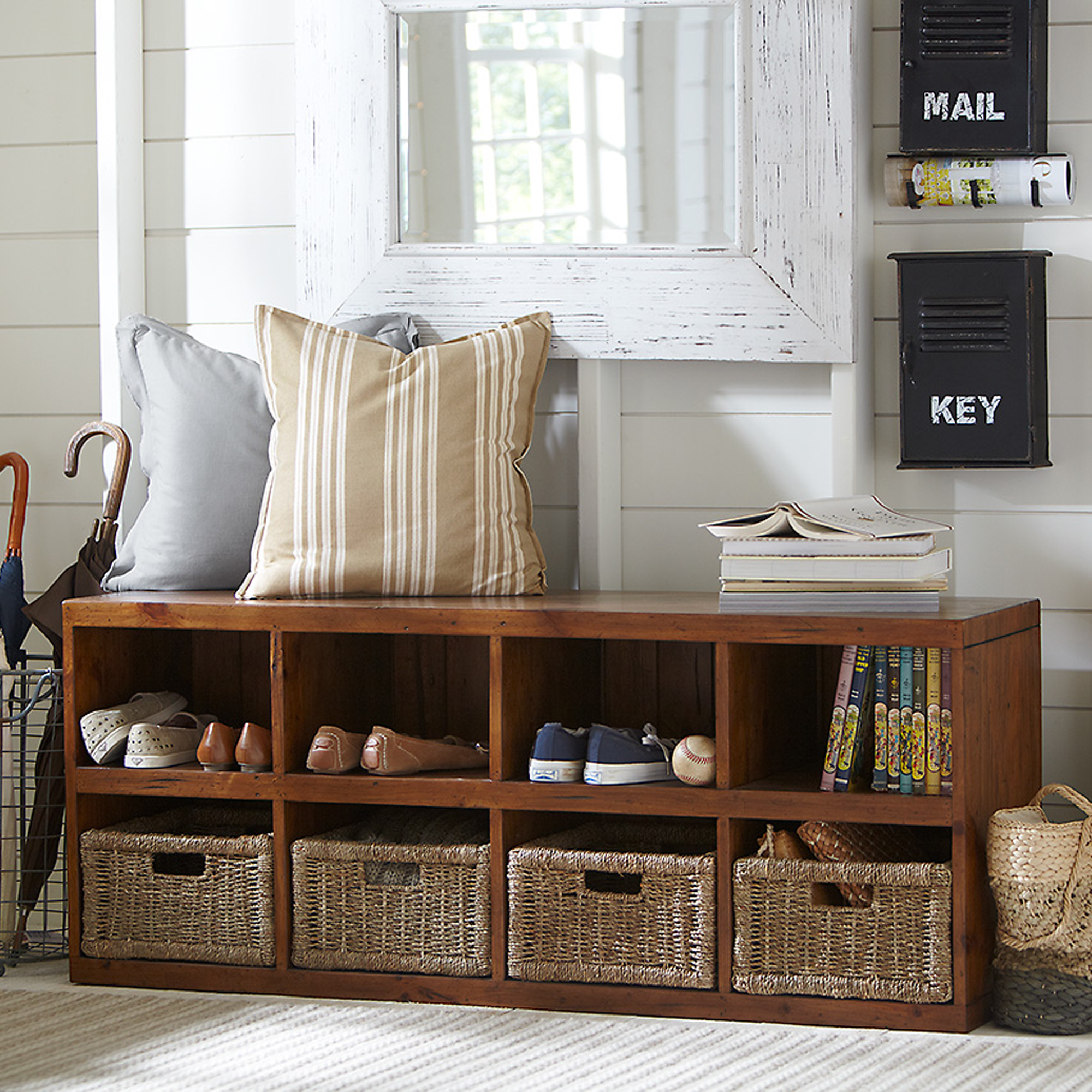 Entryway Storage Benches