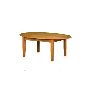 Alcott Hill Dex Eucalyptus Coffee Table