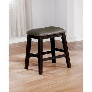 Rausch Rustic Accent Stool (Set of 2) Loon Peak