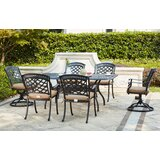 Thompson 7 Piece Dining Set with Cushions