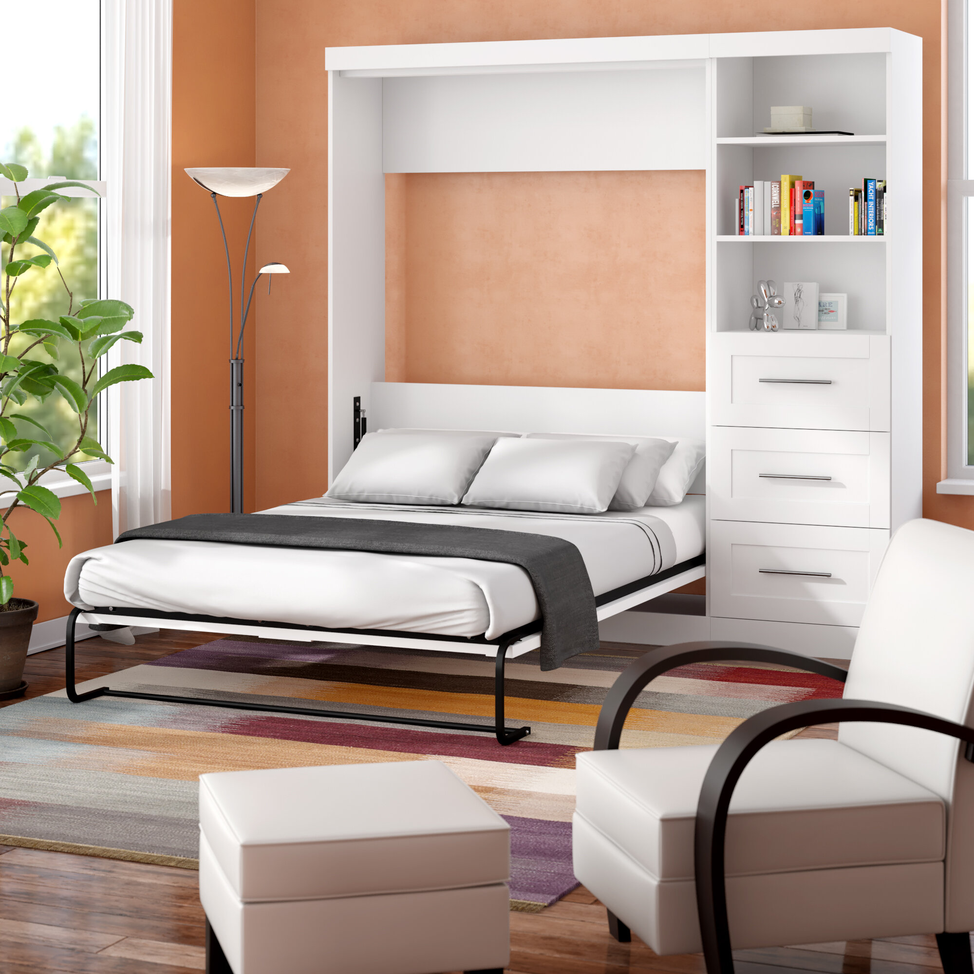 Full Double Size Murphy Beds You Ll Love In 2021 Wayfair