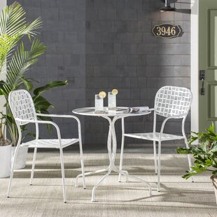 Mercury Row Helena 3 Piece Bistro Set