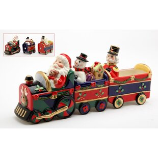 Santa Train Salt and Pepper Combidation