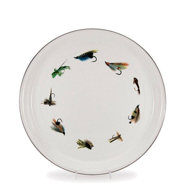 Loon Peak Quan Fishing Fly Platter