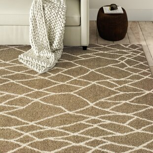 Battlefield Taupe Lattice Indoor/Outdoor Area Rug