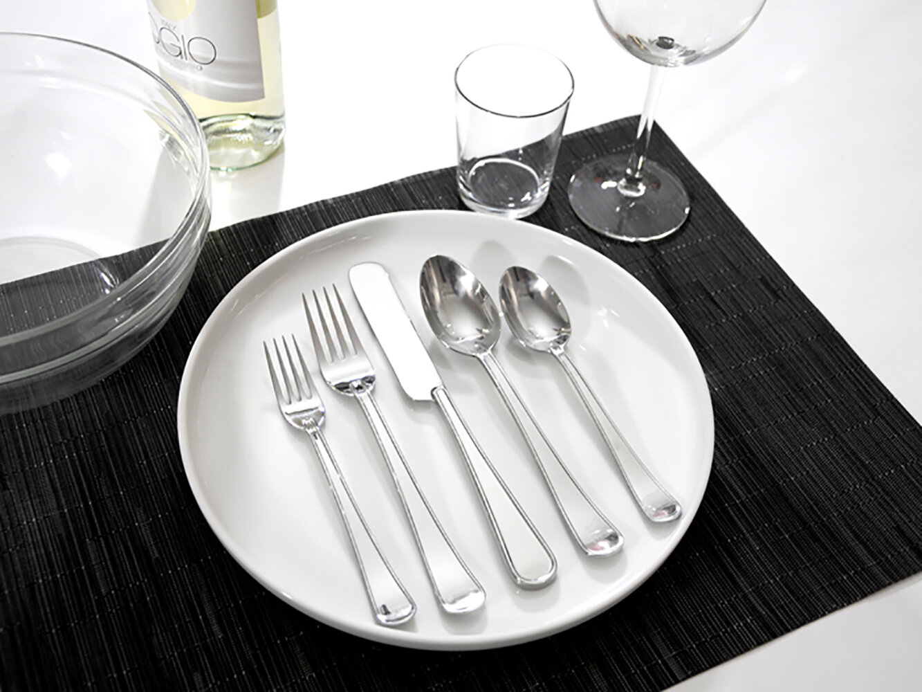 Gourmet Settings Gs Army 20 Piece 18 10 Stainless Steel Flatware Set Service For 4 Reviews Wayfair