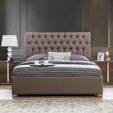 Spiller Capitone Upholstered Platform Bed by Brayden Studio®