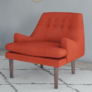 Simple Orange Accent Chairs Decoration Ideas