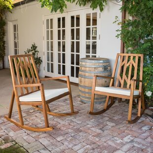 Brayden Studio Himrod Rocking Chair (Set of 2)