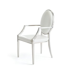 Cierra Leather Upholstered Dining Chair Willa Arlo Interiors